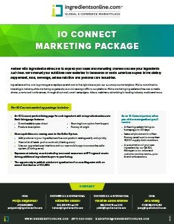 IO Connect Marketing Package