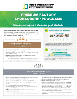 Premium Factory Sponsorship Program