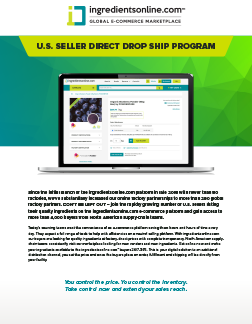 U.S. Seller Direct Drop Ship Program